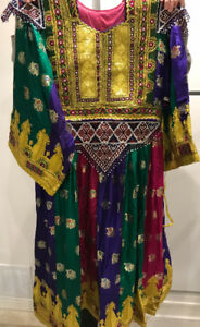 AFGHANI DRESS WOMENS CLOTHING IMPORTED