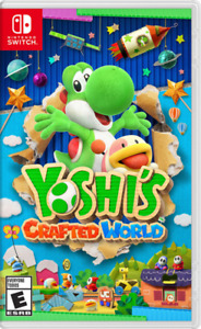 New In Box YOSHI'S CRAFTED WORLD Game For NINTENDO SWITCH Sealed