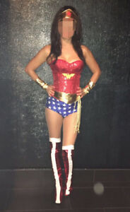 Sexy Wonder Woman Halloween Costume - Valued Over $200