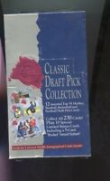 1991 DRAFT PICK COLLECTION BY CLASSIC, SEALED CARDS