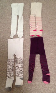 TIGHTS (4) SZ 2-3 OLD NAVY, CHILDRENS PLACE