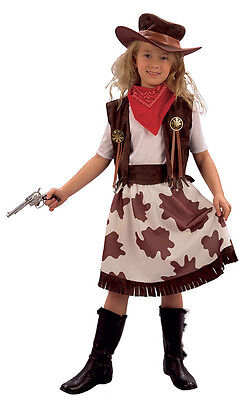 # Kinder Cowgirl Buch Woche Kostüm Cowboy & Indian Outfit alle Ages