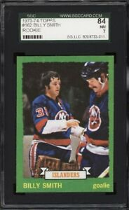 BILLY SMITH .... 1973-74 Topps .... ROOKIE CARD ... graded SGC 7