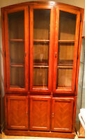 Oak dining room hutch for sale