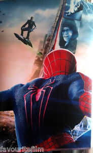 Cinema-Banner-AMAZING-SPIDER-MAN-2-2014-Three-Sections-Andrew-Garfield