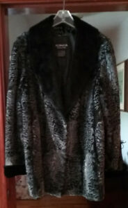 "Ladies ""Olympia"" faux fur coat"