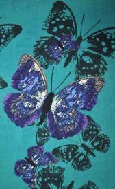 Lady Vintage Dress Teal Green Butterfly Isabella Dress 1950 fancy dress RRP £49