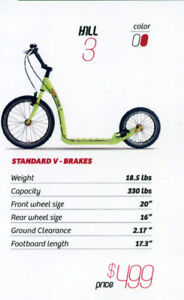 Kostka Hill 3 Premium Czech Scooter - NEW