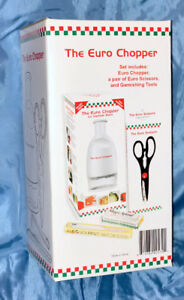 Euro Choppper - inc. Food Chopper, scissors and garnishing tools