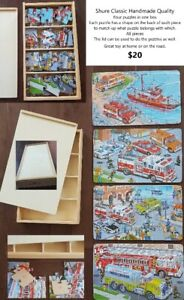 Shure Classic Handmade Quality - Children Puzzles