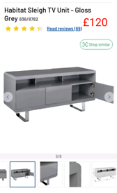 Sleigh TV unit only £120. RBW Clearance Outlet Leicester City