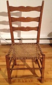 4 chaises antiques