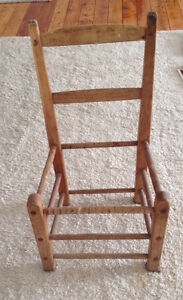 5 Antique Quebec Chairs