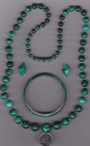 MALACHITE necklace