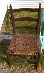 Antique Acadian Rocking Chair