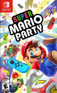 New In Box SUPER MARIO PARTY Game For NINTENDO SWITCH Sealed