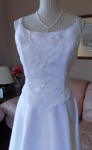 Alfred Angelo Wedding Gown, white