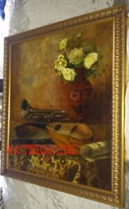 RARE CANADIAN 19TH CENTURY PAINTING, SIGNED, & DATED 1885