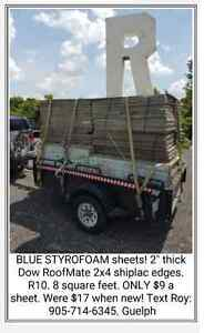 2x4 Blue STYROFOAM sheets! Dow R10 @ HalfPrice! Kitchener / Waterloo Kitchener Area image 7