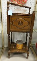 Vintage Wooden Smokers Cabinet - Blue Jar Antique Mall