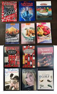 Livres variés: BD, Cuisine, Records, Ripley's et autres!