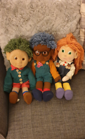 TOTS TV CHARACTERS TILLY TOM AND TINY