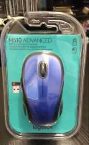 Logitech M510 mouse, blue, Brand new, sealed
