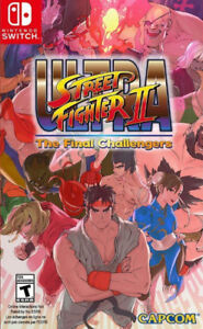 Switch Game For Sale or Trade - Ultra Street Fighter 2