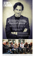 Exclusive  Holiday Wine Tasting With Alessandro Dialuce
