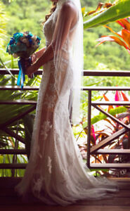 Robe de mariée unique et sexy à vendre
