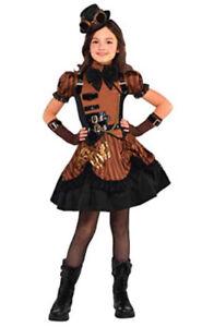 Halloween Costume Girl- 8-10 Steampunk'd