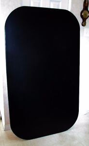 Large black table