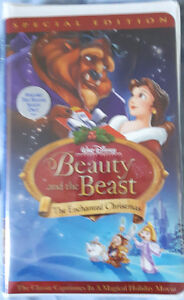 Beauty And The Beast Enchanted Christmas Special Edition - VHS