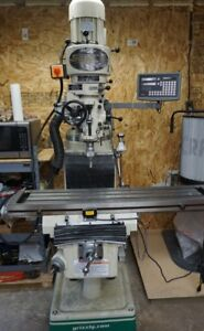 """Milling Machine - Grizzly G0796 - 9"""" X 49"""" Vertical Mill DRO"""