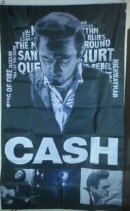 Johnny Cash Banner Flags