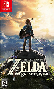 Switch Game For Sale - Legend Of Zelda Breath Of The Wild