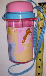 Disney Princess Pink Travel Sippy Cup with Strap - NEW London Ontario image 2