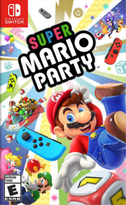 New In Box SUPER MARIO PARTY Game For NINTENDO SWITCH
