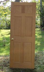 Used, Solid Oak Doors