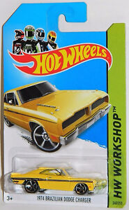 Hot Wheels 1/64 1974 Brazilian Dodge Charger Diecast Car