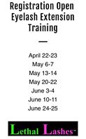 Lethal Lashes Is Offering Training