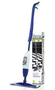 Bona Spray Mop Fliesen Laminat + Mikrofasertuch + Reinigungsmittel * Wischer *