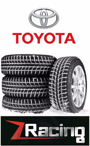 Toyota winter rim and tire packages @9056732828 ZRACING