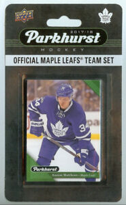 2017-18 UD Parkhurst Toronto Maple Leafs Team Set