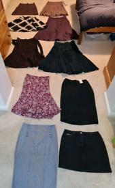 Skirt bundle x 10