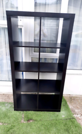 Ikea Kallax Black/Brown with Free Delivery