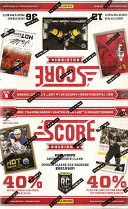 Score Hockey 2013-14 36 Pack Box (One Autograph card)