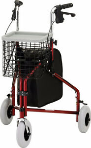 NOVA Medical Products Traveler 3-wheel walker, Brand New in Box