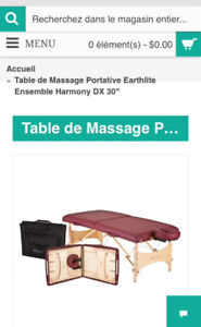 Table esthétique/masso/Physio