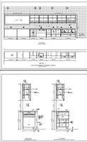 Millwork shop drawings - CAD drawings
